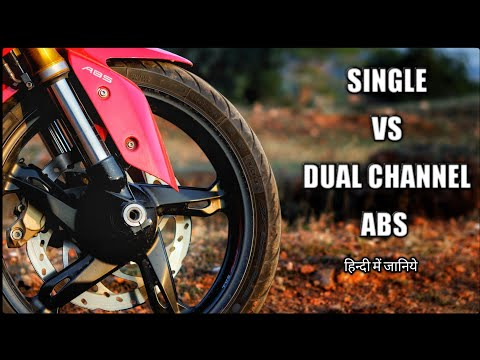 Single Channel vs Dual Channel ABS [Explained in HINDI]
