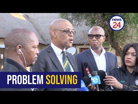 Watch: The president will announce the way forward, tonight - Pule Mabe
