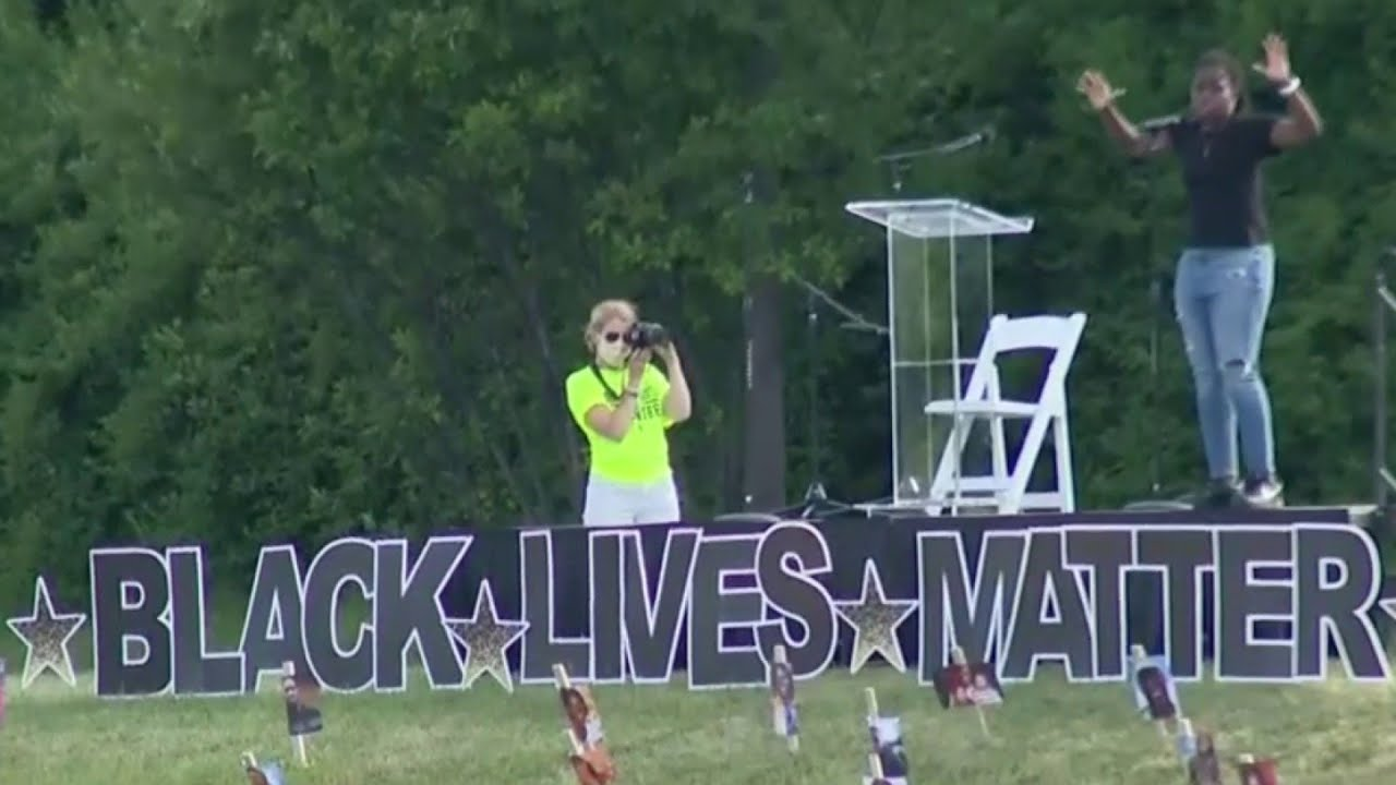 Drive-in Black Lives Matter protest held in West Bloomfield