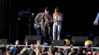The Arkells (ft. Leah Fay) at Rock The Shores 2016: My Music at Work (The Tragically Hip cover)
