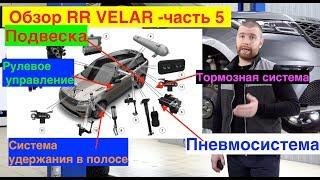 Подвеска Range Rover Velar - обзор, часть 5. Пневмоподвеска Вилар.