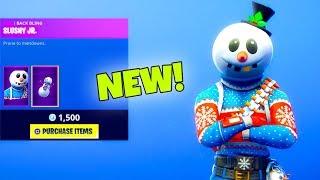"*NEW* SECRET SKIN ""Snowman""..! Slushy Soldier (New Item Shop) Fortnite Battle Royale"