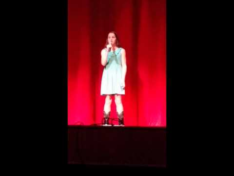 Maddi HIll Barbed Wire Halo Rotary Talent Show