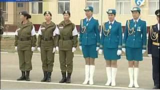 Военные сменили форму