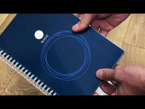 How Smart is the Rocketbook Wave Reusable Notebook?