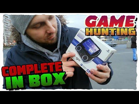 GAME HUNTING - PSP GO - ОХОТА ЗА ИГРАМИ - GAME CHASER