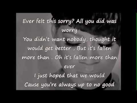 Song lyrics about losing someone you love