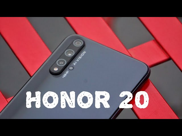 Honor 20 Review: better than the OnePlus 7?
