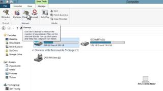 Windows 8 Tutorial - How To Cleanup/Have MORE Space On Your Computer Hard Drive[EASY&NO DOWNLOAD]