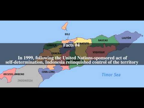 East Timor Top # 8 Facts