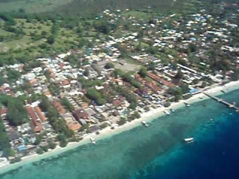 Gili Trawangan, Gili T , Party Island, tropical paradise island offshore Lombok