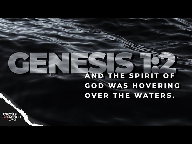 Did water exist before creation?