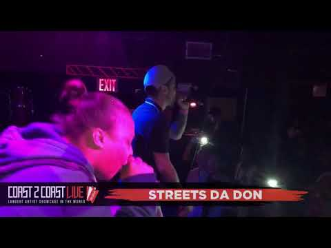 Streets Da Don Performs at Coast 2 Coast LIVE NYC All Ages Edition 92118