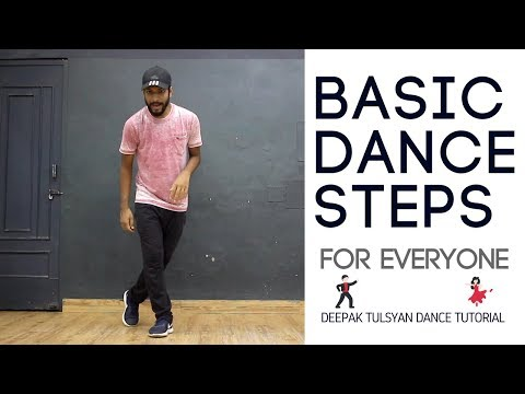 Basic Dance Steps for Everyone | 3 Simple Moves | Practice Everyday | Deepak Tulsyan | Part 8