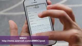 iPhone telefonları üçün İnternet və MMS ayarları