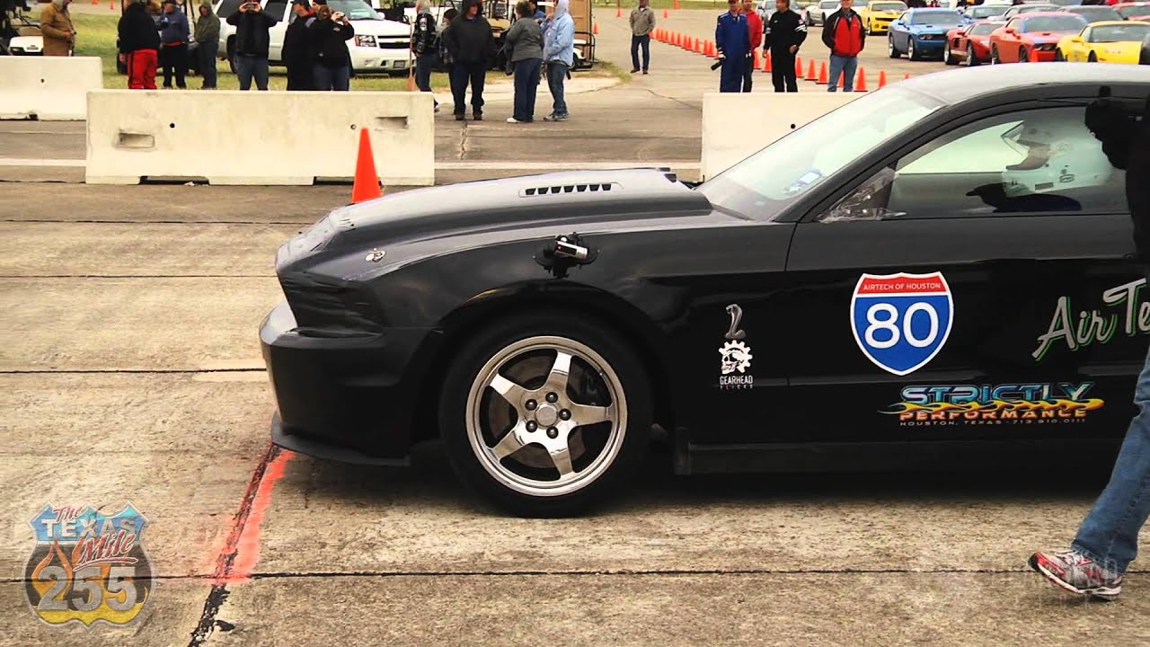 Worlds Fastest 2011 Gt500 218mph Texas Mile Youtube
