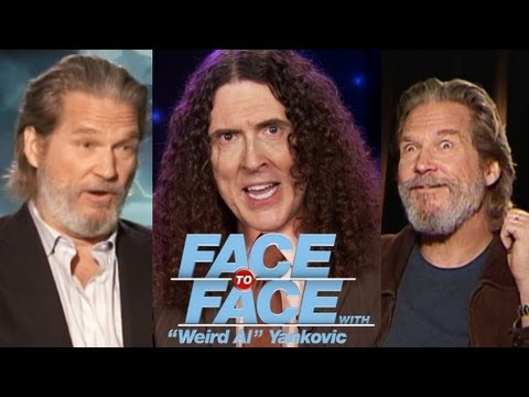 "JEFF BRIDGES goes Face to Face with ""Weird Al"" Yankovic"