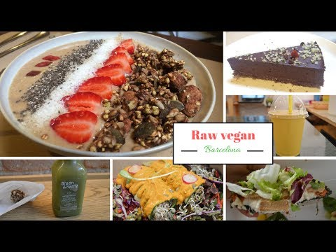Raw VEGAN in Barcelona || Petit Brot || Väcka || Moozen || Green & Berry
