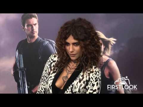 Nadia Hilker arrives at The Divergent Series Allegiant Premiere