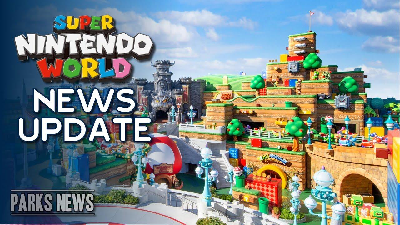 Photos & Details for Super Nintendo World & Mario Kart Ride OPENING FEB 2021 Universal Studios Japan