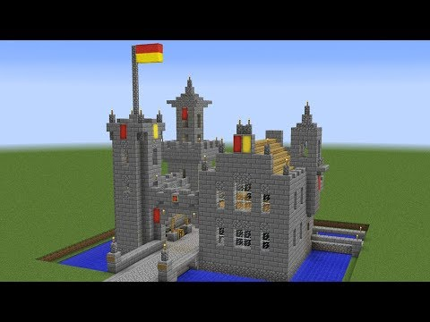 Minecraft - How to build a castle