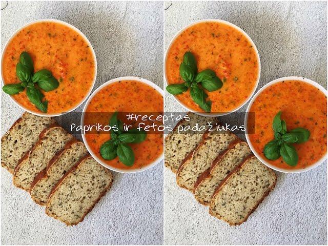 #receptas - Paprikos ir fetos padažiukas / Tupperware Sapnas / Vegan Pipiras