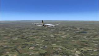 Singapore Airlines A330-300 Full Flight From Liverpool to Manchester (FSX)