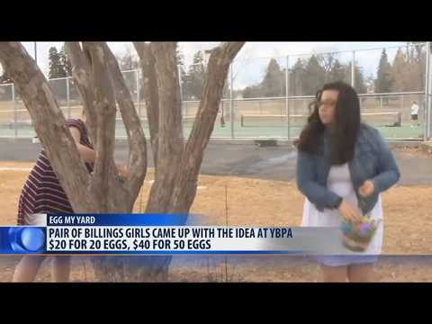 Billings high school students play Easter bunny in budding business venture