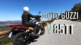 Moto Guzzi V85TT - Une authentique voyageuse