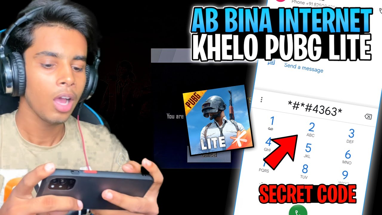 Download How To Play PUBG Mobile Lite Without Internet 😍 PLAY OFFLINE - Secret Trick   Pubg Lite