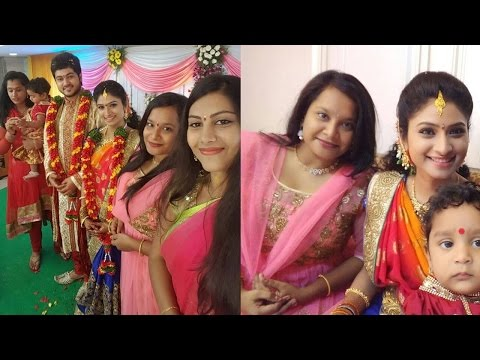 Serial Actors Vishnu Priya And Siddharth Marriage Pics