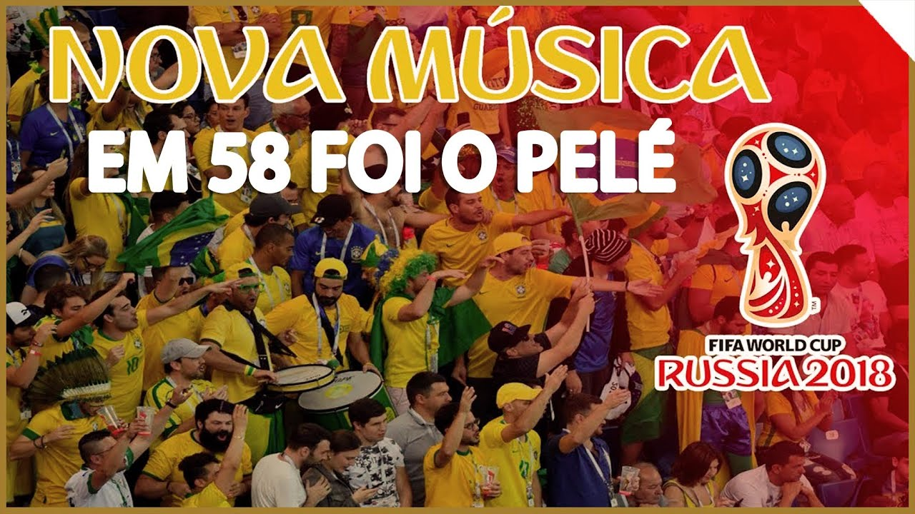 be1b858dc9 Nova música da torcida do Brasil na Copa da Rússia - YouTube