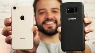 iPhone 8 vs. Galaxy S8 | Qual o melhor de 2017? [ Comparativo ]