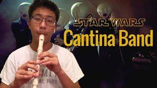 Star Wars Cantina Band on recorder