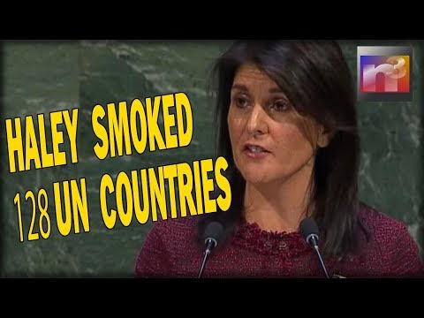 Haley SMOKED the 128 UN Countries That Voted AGAINST US on Jerusalem