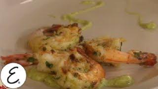 Grilled Shrimp With Creamy Avocado-lime Vinaigrette - Emeril Lagasse
