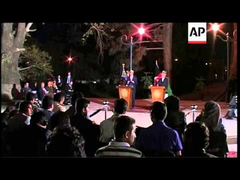 Karzai and Kerry reach partial agreement on security accord