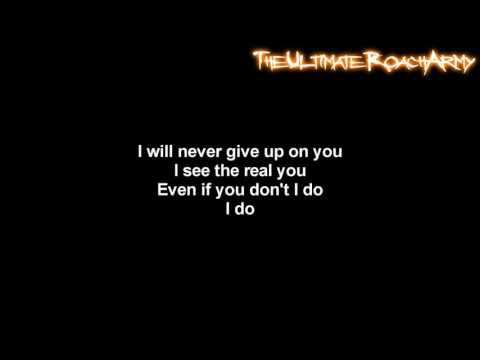 Three Days Grace - The Real You [Lyrics on screen] HD