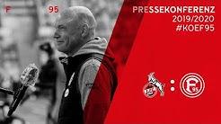 1.FC Köln vs. Fortuna Düsseldorf | F95-Pressekonferenz | 2019/20 | PK vor #KOEF95