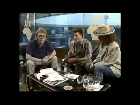 BBC Interview - Stuart Adamson & Tracey Ullman (Live Aid 7/13/1985)
