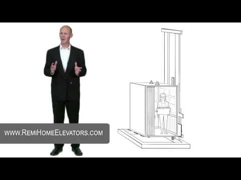 Hydraulic Home Elevator Installation - REMI Home Elevator Systems