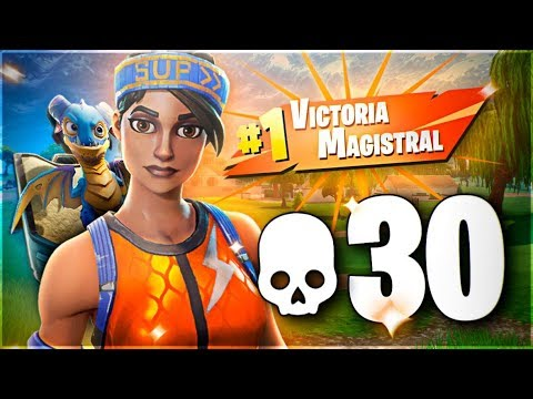 ¡30 KILLS! NUEVO RÉCORD PERSONAL *MODO DOMINACIÓN DISCO* | Fortnite: Battle Royale