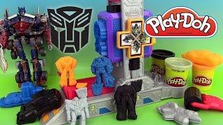 Play Doh Transformers Autobot Workshop Playset Pâte à modeler Atelier des Autobots thumbnail