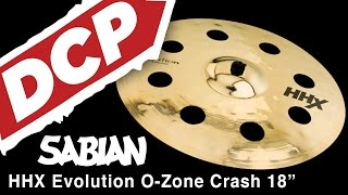 sabian hhx evolution o zone crash cymbal 18