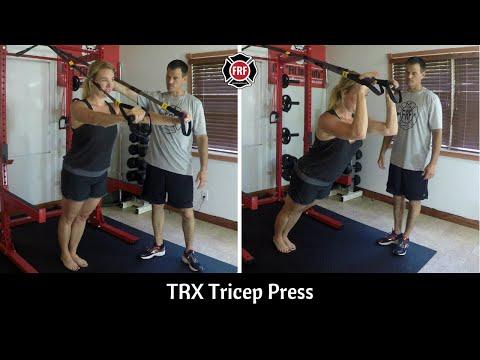 TRX Tricep press