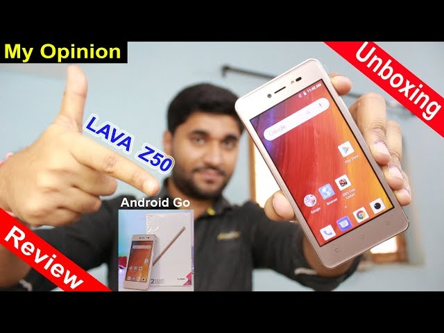 Lava Z50 Unboxing | Quick Review | My Opinion (In Hindi)