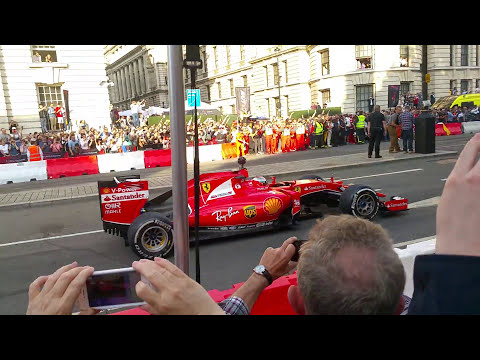 Formula 1 (F1) London Live - All the cars