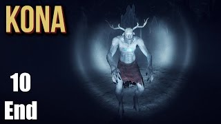 Kona Gameplay Part 10 THE END Walkthrough No Commentary