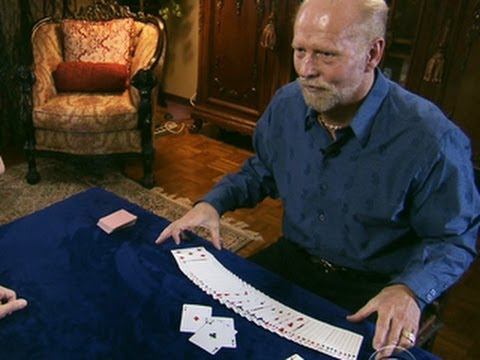 Blind Card Shark Amazes With His Astounding Skills