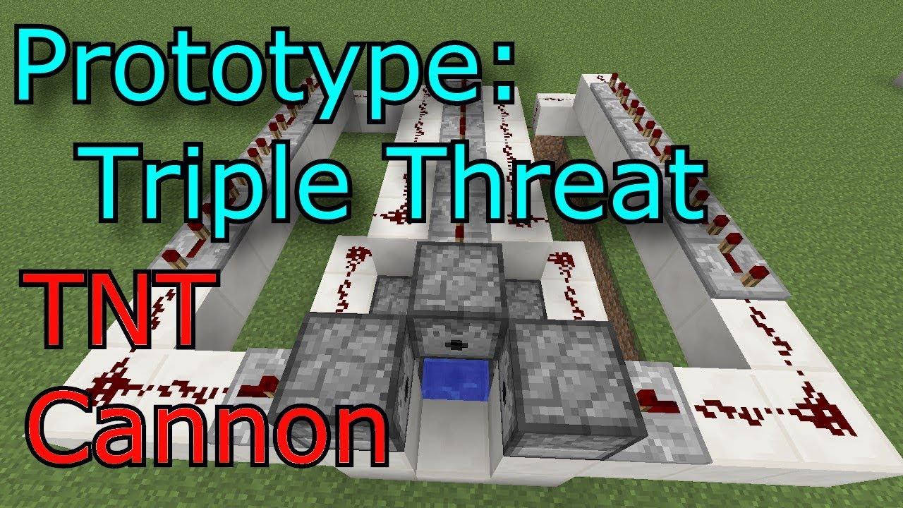 tnt cannon designs